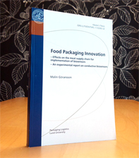 Master thesis packaging